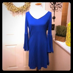 Boutique Formal Azadeh Couture Royal Blue Midi